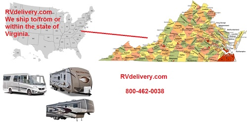 Virginia RV Transport,  VA